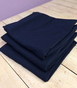 Navy Blue Cotton Lycra Jersey 12oz