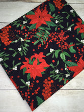 Load image into Gallery viewer, Clearance Cotton Lycra Poinsettias