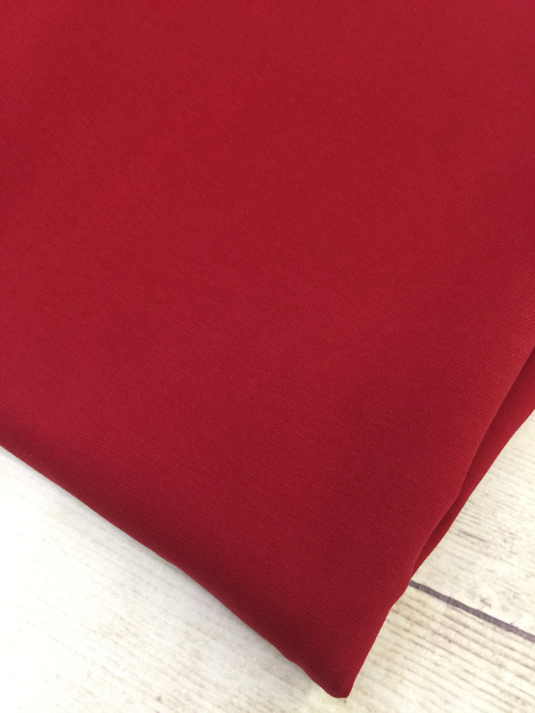 Cranberry Cotton Lycra Jersey 12oz