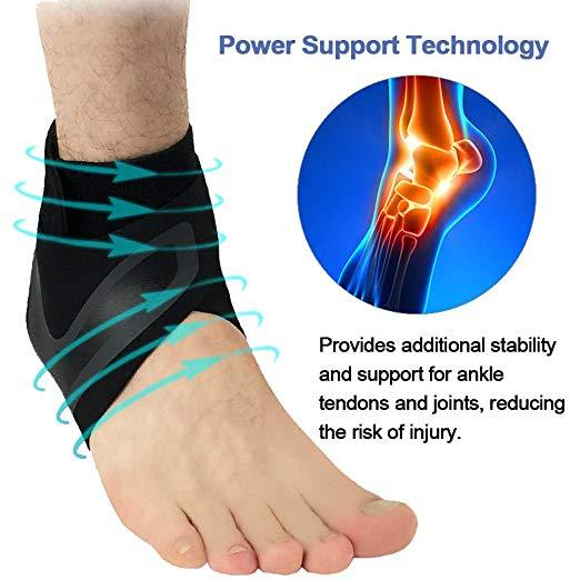 Adjustable Elastic Ankle Brace - 60%OFF