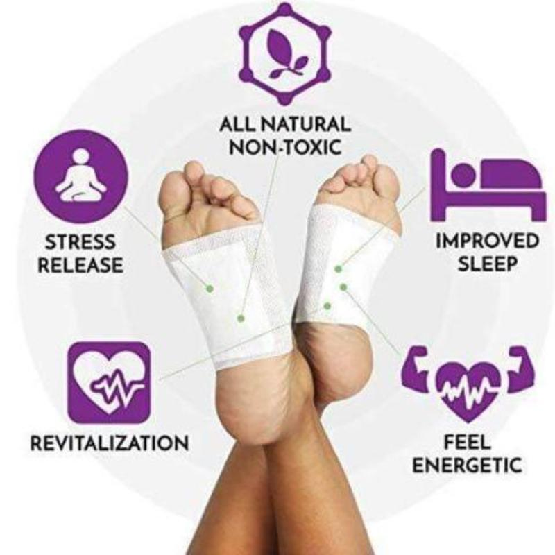 Ginger Revitalizing Detox Foot Patch (10 PCS)