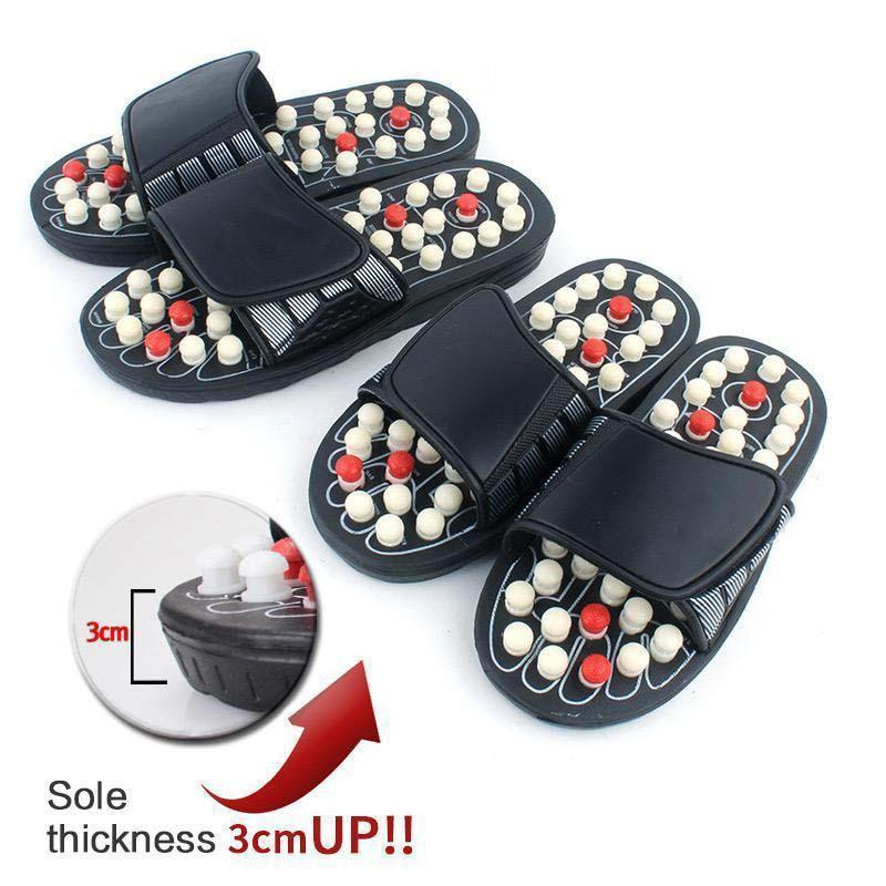 60%OFF - Pressure Relief Foot Massage Slippers