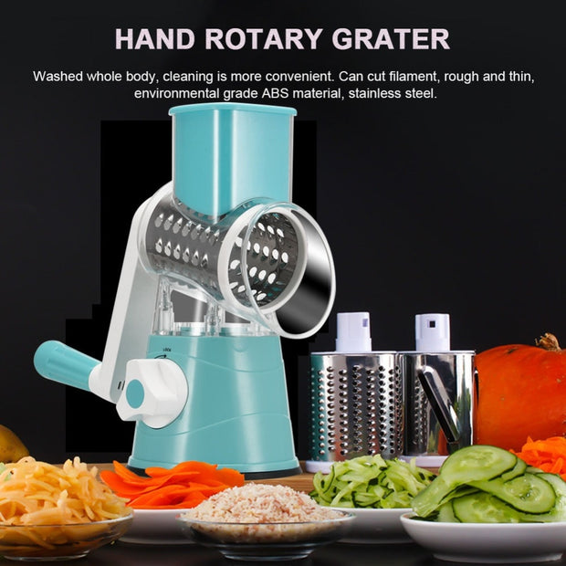 Hand Multifuntion Vegetables and Fruits Grater - 60%OFF