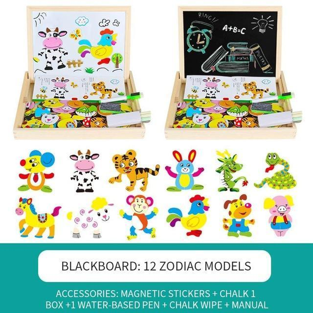 Dress Up & Learn - 3D Magnetic Puzzle Set