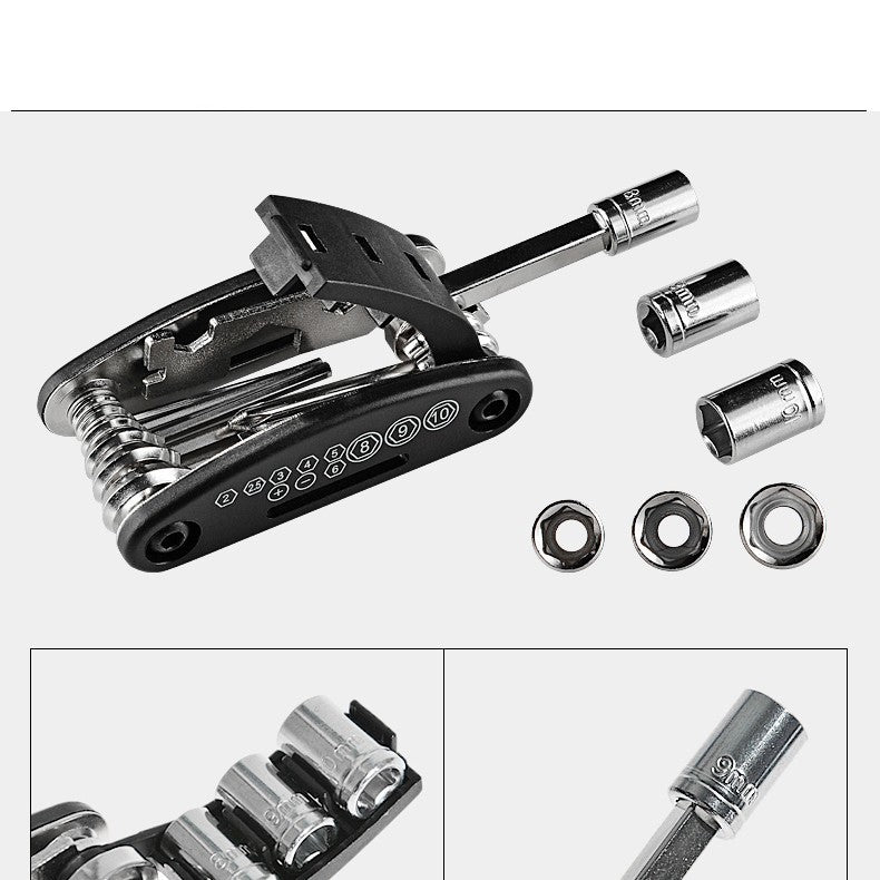 16 IN 1 WRENCH/SCREWDRIVER MULTI TOOL