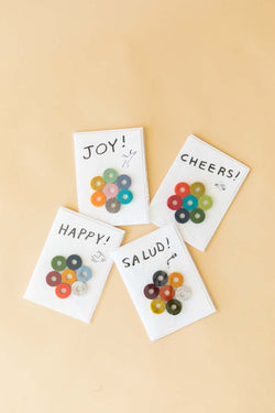 Felt Wine Marker Note Cards