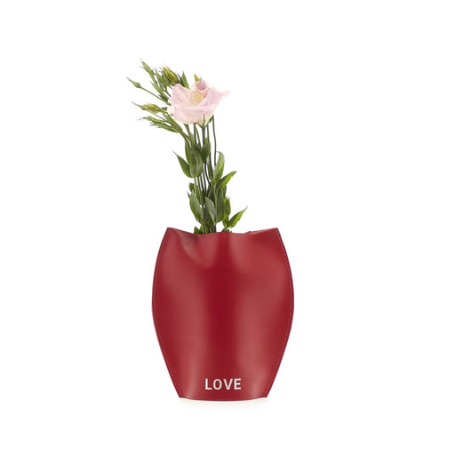 Bana 1 Single Tall Leather Vase   Vase - Graf Lantz
