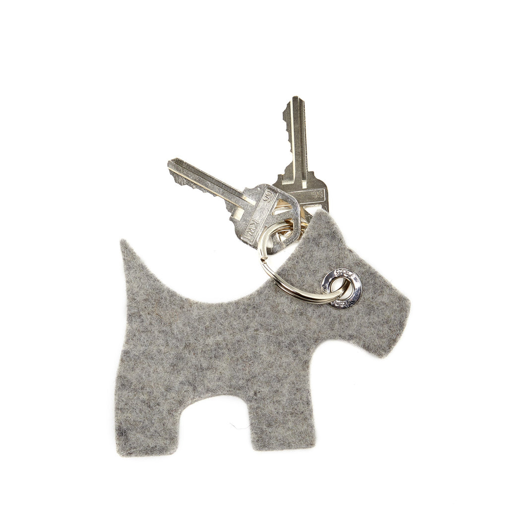 Key Fob Scottie Dog Granite 1