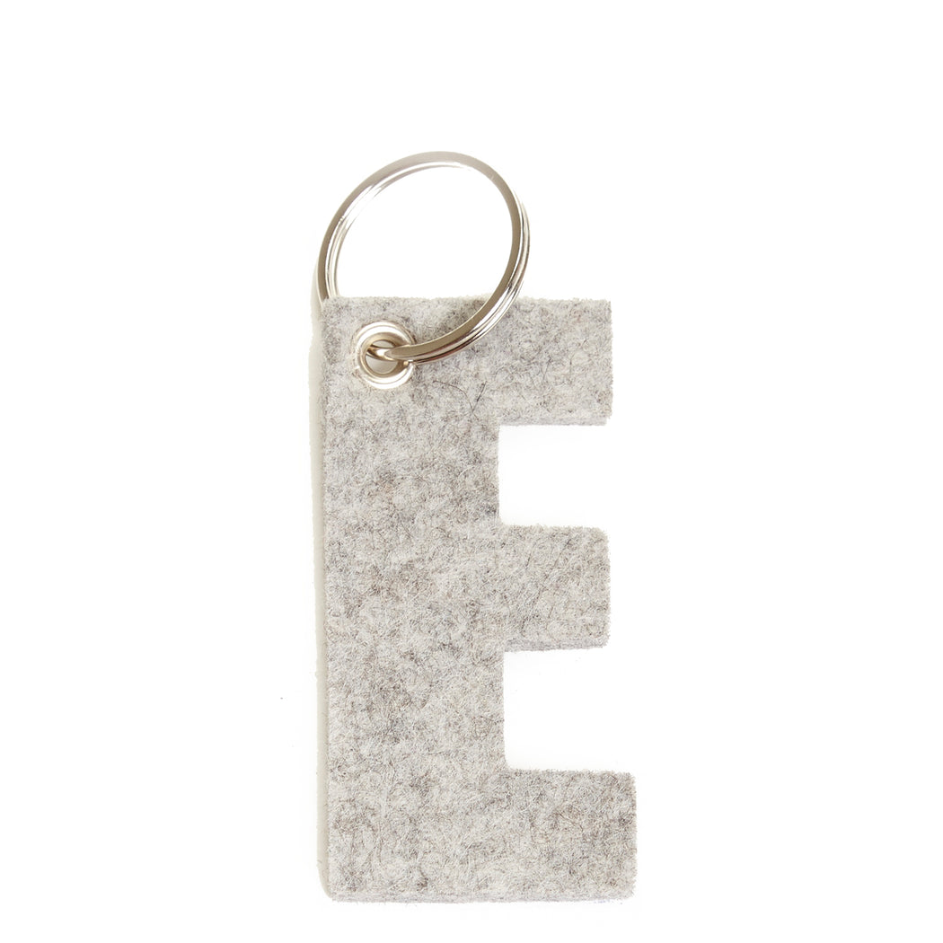 Alphabet Key Fob Letter E   Key and Bag Accessories - Graf Lantz