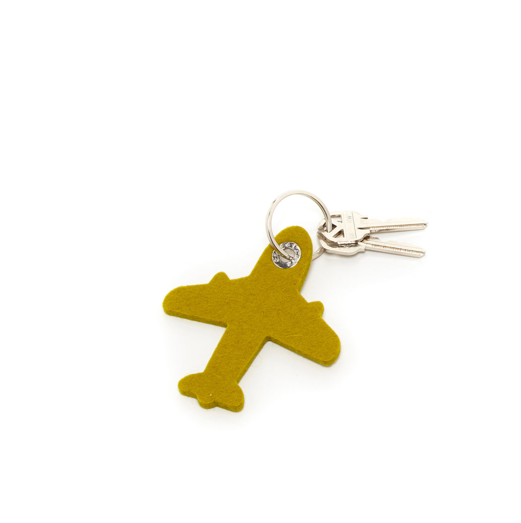 Key Fob Airplane Felt   Key and Bag Accessories - Graf Lantz