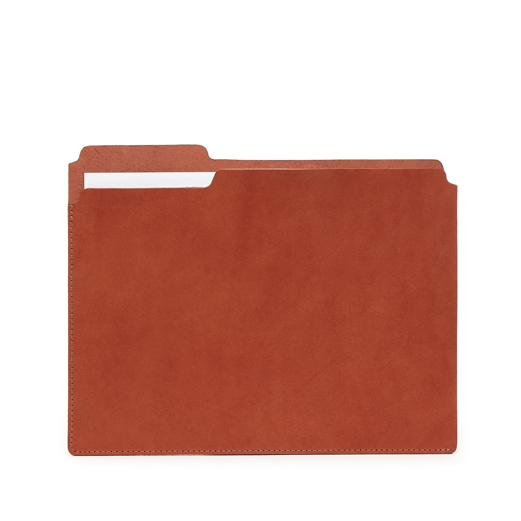 Fiaru Folder Brandy Leather 1