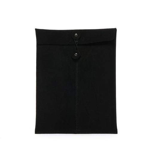 Memo Envelope Black Suede 1