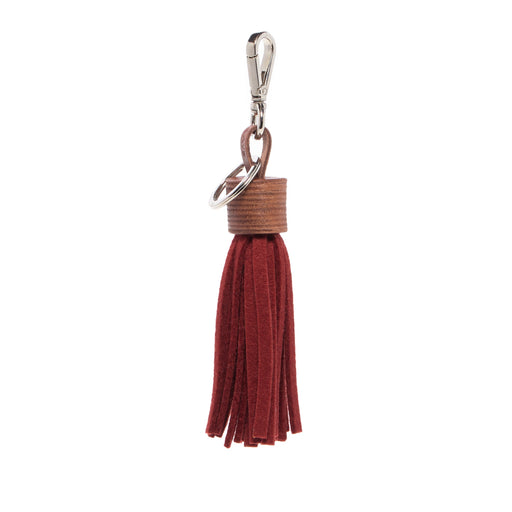 Felt Tassel Rosewood / Sienna Leather 1