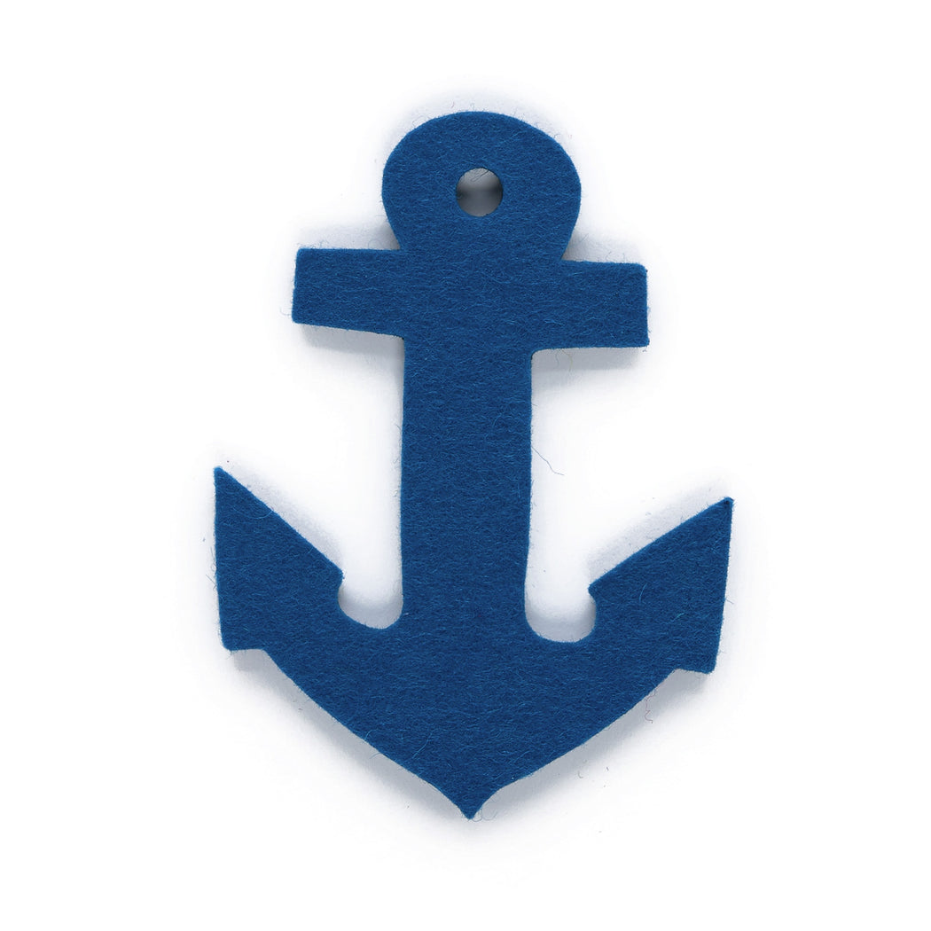 Feltmag Anchor Cobalt Blue 1