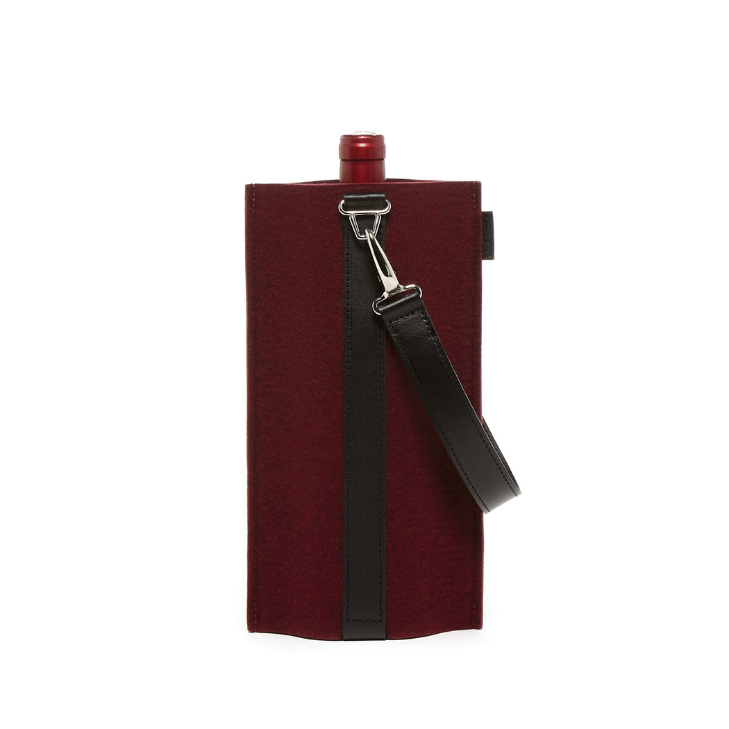 Solo Wine Carrier Felt   Wine Carriers - Graf Lantz