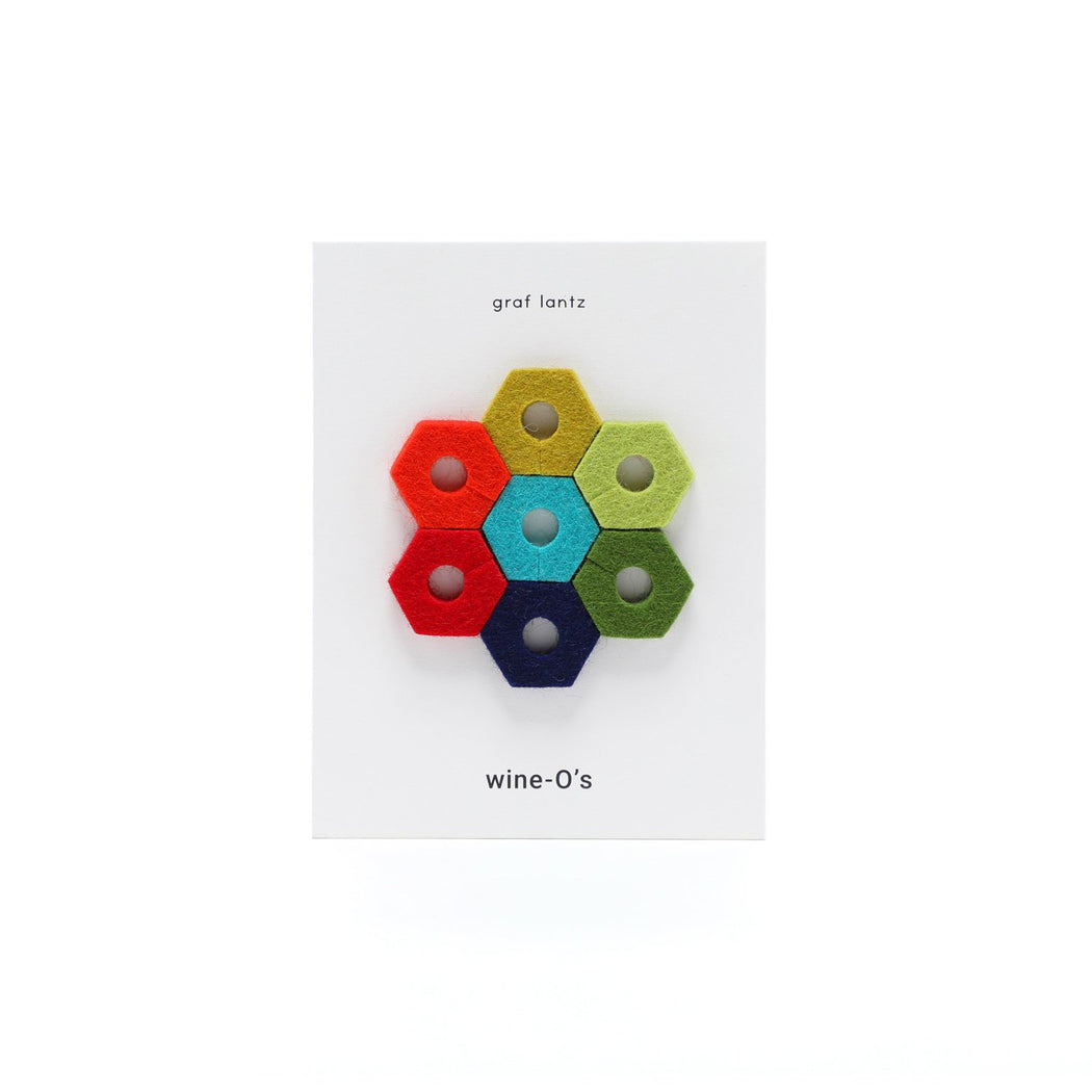 Wine-O's Hexagon 7-pack Rainbow 1
