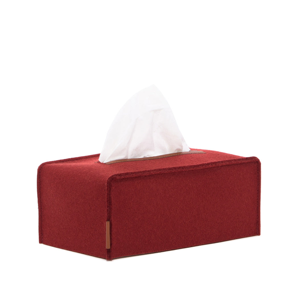 Tissue Box Cover Large Rosewood 1