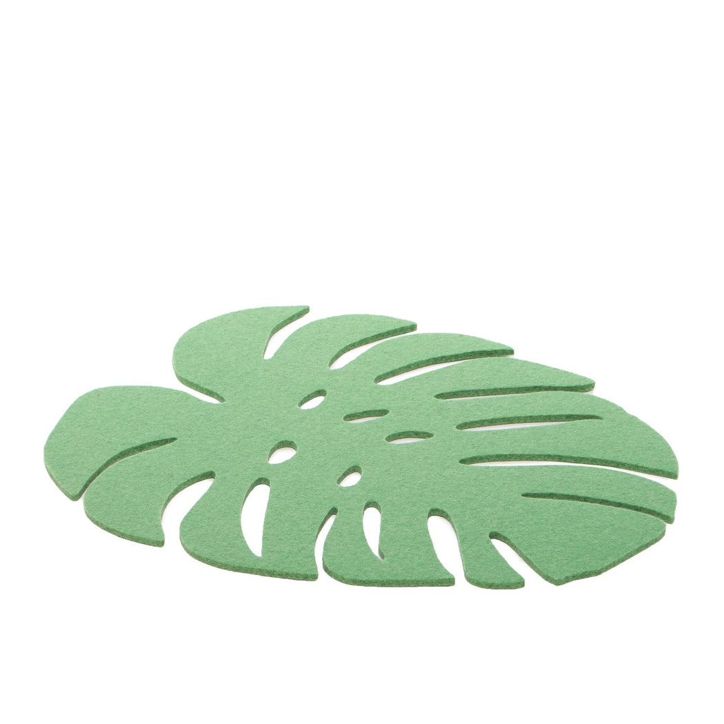 Monstera Trivet Large Matcha 1