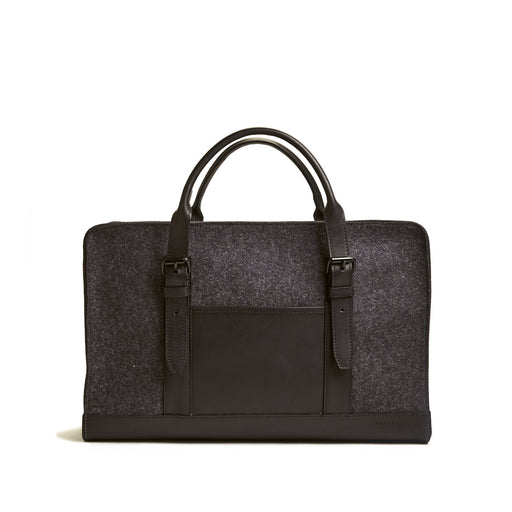 Benton Carry On Charcoal / Black Leather 1