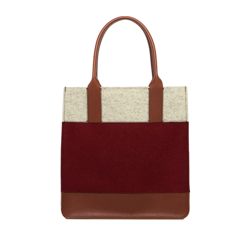 Jaunt Tote Rosewood and Sienna 1