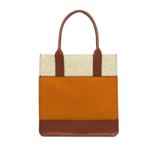 Jaunt Tote Turmeric and Sienna 1