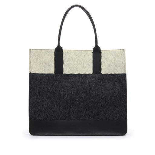 Jaunt Shopper Charcoal and Black 1