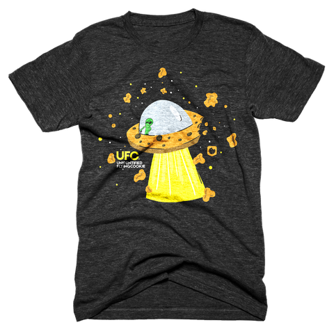 Unidentified Flying Cookie Tee - Pacific Northwest Cookie Company