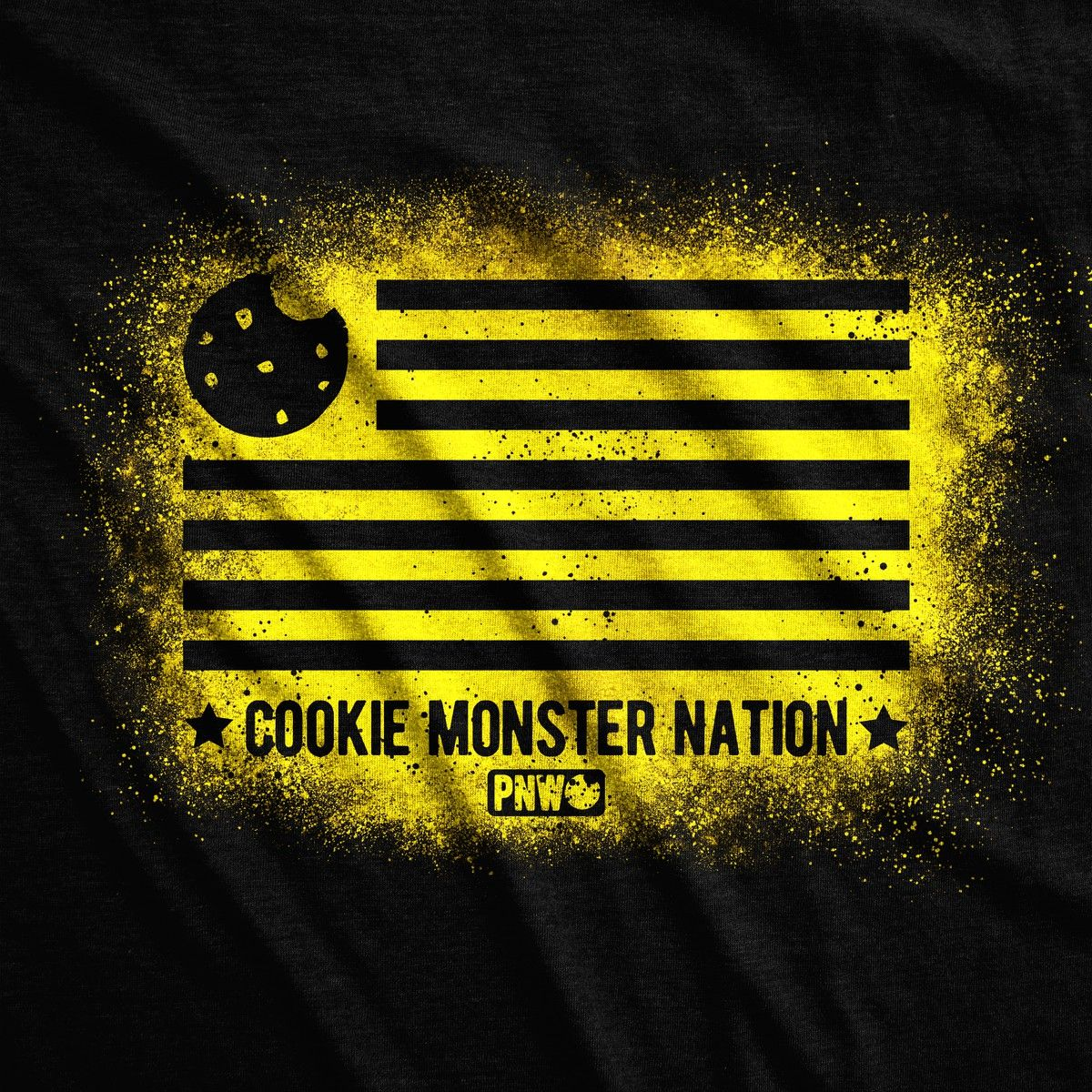 Cookie Monster Nation Tee - Pacific Northwest Cookie Company
