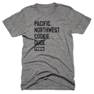 PNW Cookie Dude Tee - Pacific Northwest Cookie Company