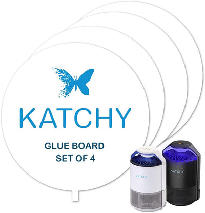 KATCHY Insect Trap Refillable Glue Boards (Set of 4)KATCHY BUG - KATCHY BUG