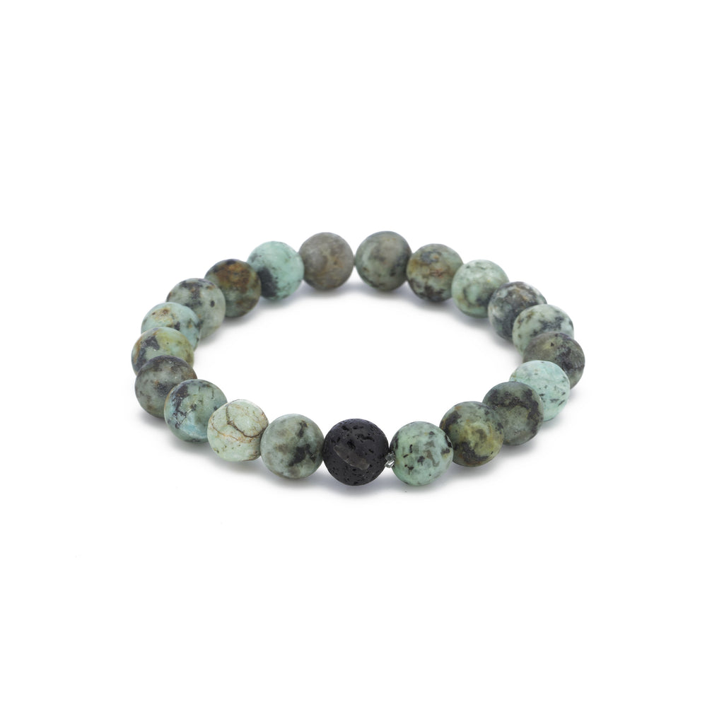 African Turquoise Cleansing Bracelet