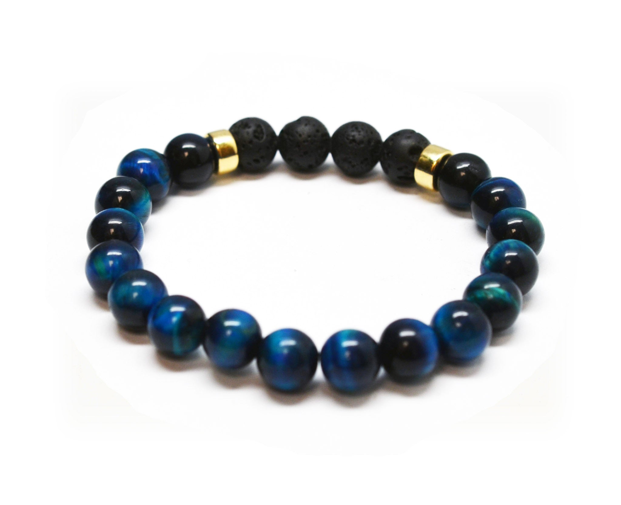 Calm Protection Intention Gemstone Bracelet