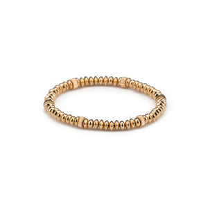 Gold Screw Reflection Bracelet