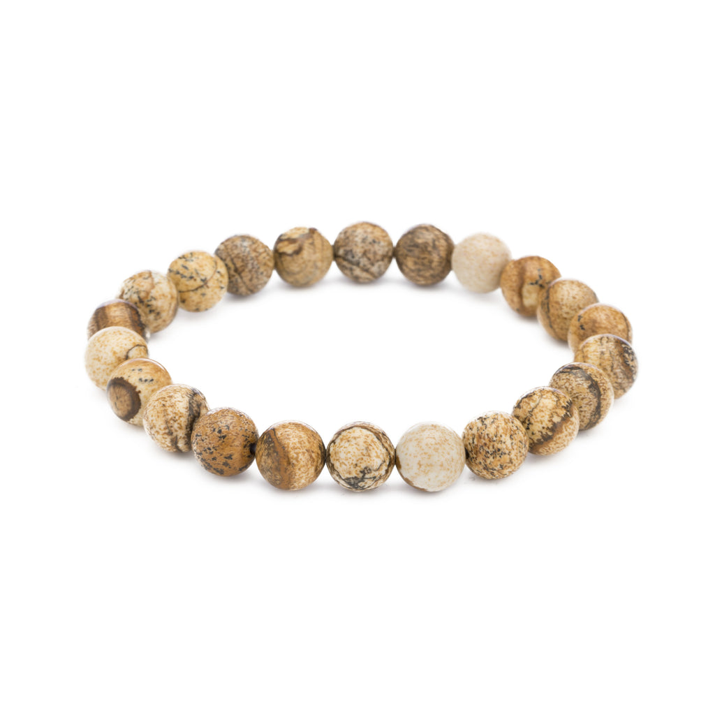 Picture Jasper Cleansing Gemstone Bracelet