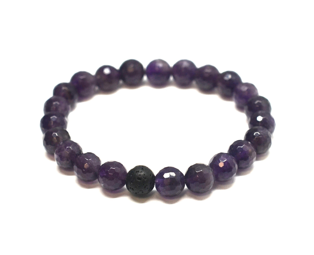 Mens Health Intention Gemstone Bracelet