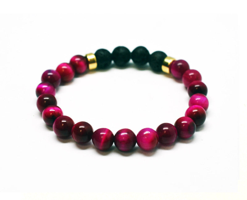 Positive Protection Intention Gemstone Bracelet
