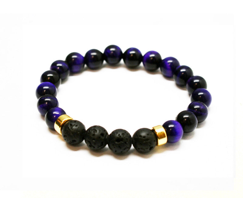 Balanced Protection Intention Gemstone Bracelet