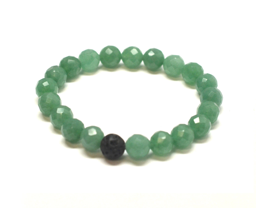Mens Success Intention Gemstone Bracelet