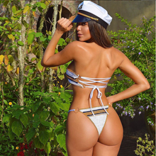 Load image into Gallery viewer, CAPTAIN bikini top