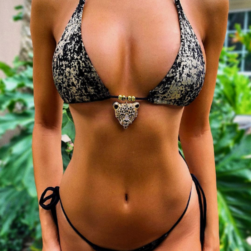 WILD THOUGHTS bikini top