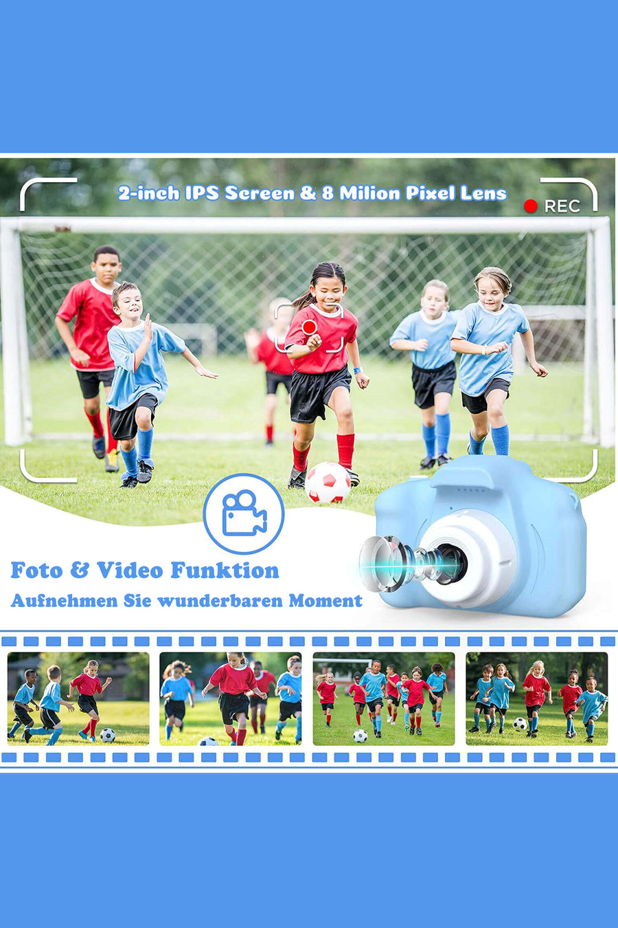 LittleLens Digitalkamera für Kinder