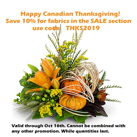 Happy Canadian Thanksgiving & Happy Columbus Day