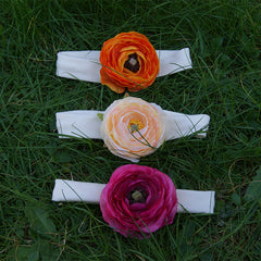 Headband Buttercups  - 3 1/2 inches