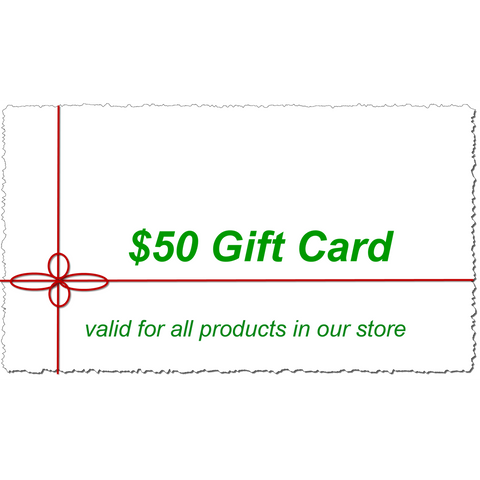 $50 Kinderel Gift Card - Kinderel Bamboo Fabrics