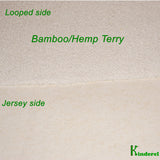 Hemp Bamboo Terry Fabric Rolls $ 8.95/yard - Kinderel Bamboo Fabrics