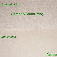 Bamboo/Hemp Terry Fabric retail or wholesale