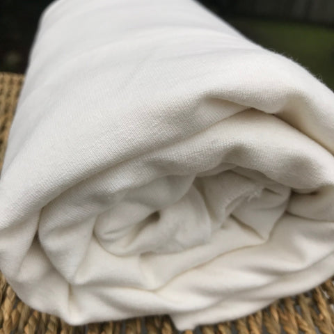 Bamboo Hemp Stretch Fleece Fabric, from $9.95/yard