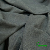 Bamboo Stretch French Terry, Heather Dark Green by the Yard or Wholesale - Kinderel Bamboo Fabrics