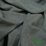 Bamboo Stretch Jersey, Heather Dark Green by the Yard - Kinderel Bamboo Fabrics