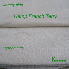 Hemp/Organic Cotton Terry Fabric